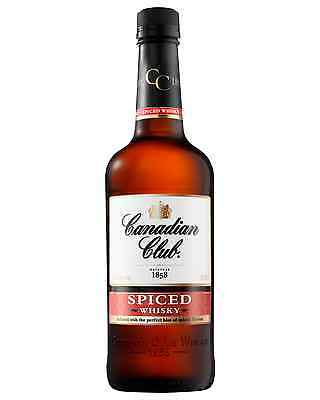 Canadian Club Spiced Whisky 700mL case of 6 Canadian Whisky Blended Whisky