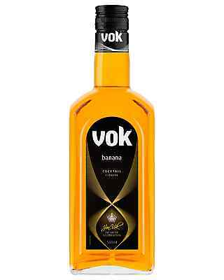 Vok Banana Liqueur 500mL case of 6 Fruit Liqueurs