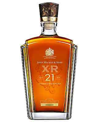 Johnnie Walker XR 21 Year Old Scotch Whisky 750mL case of 6 Blended Whisky