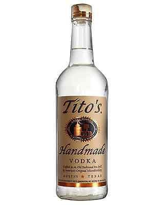 Tito's Handmade Vodka 700mL case of 6