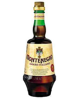 Amaro Montenegro Italiano 700mL case of 6 Liqueur Herbal Liqueurs