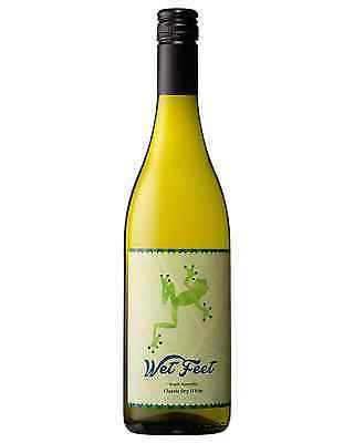 Wet Feet Classic Dry White case of 12 White Blend Wine 750mL