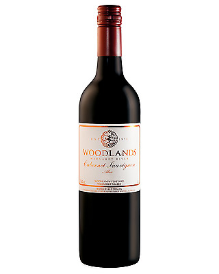 Woodlands Alex Cabernet Sauvignon bottle Dry Red Wine 750mL Margaret River