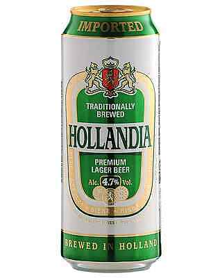 Hollandia Beer 500mL case of 24 International Beer Lager