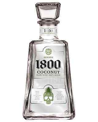1800 Coconut Tequila 750mL case of 6 Flavoured