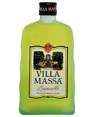 Villa Massa Limoncello 500mL case of 6 Liqueur Fruit Liqueurs