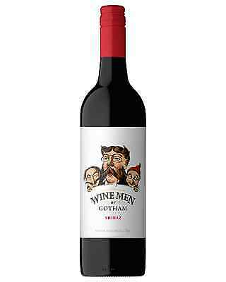Wine Men Of Gotham Shiraz case of 6 Dry Red 750mL