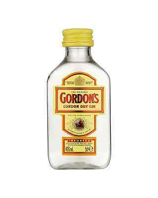 Gordon's London Dry Gin 50mL bottle