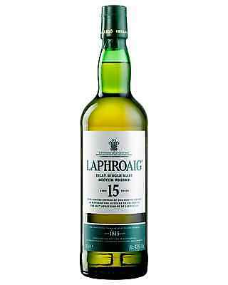 Laphroaig 15 Year Old Scotch Whisky 700mL bottle Single Malt Islay