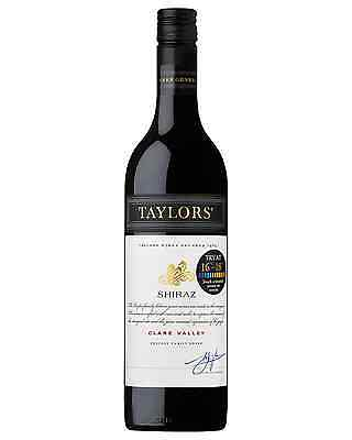Taylors Estate Shiraz 2012 case of 6 Dry Red Wine 750mL Clare Valley