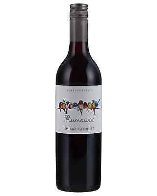 Warburn Rumours Shiraz Cabernet case of 6 Dry Red Wine 750mL