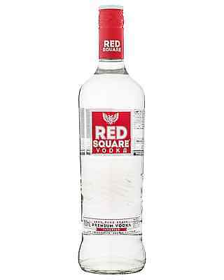 Red Square Vodka 700mL case of 6