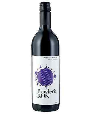 Bowler's Run Cabernet Merlot case of 6 Dry Red Wine 750mL