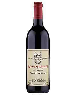Bowen Estate Cabernet Sauvignon bottle Dry Red Wine 750mL Coonawarra