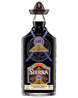 Sierra Cafe Tequila 700mL case of 6 Coffee Liqueur