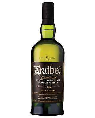 Ardbeg 10 Year Old Scotch Whisky 700mL bottle Single Malt Islay