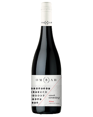 Omrah Shiraz bottle Dry Red Wine 750mL Great Southern