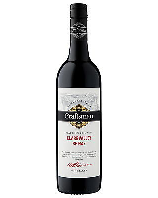 Craftsman Shiraz bottle Dry Red Wine 750mL Clare Valley