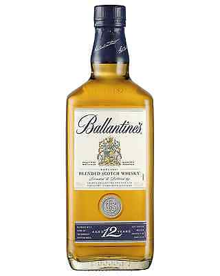 Ballantine's 12 Year Old Scotch Whisky 700mL case of 6 Blended Whisky