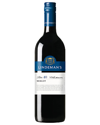 Lindeman's Bin 40 Merlot bottle Dry Red Wine 750mL