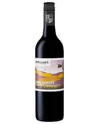 McWilliam's Cool Climate Cabernet Sauvignon case of 6 Dry Red Wine 750mL