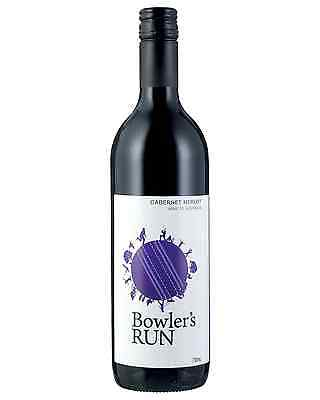 Bowler's Run Cabernet Merlot bottle Dry Red Wine 2016* 750mL