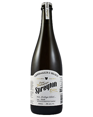 Spreyton bottle Cider Apple Cider 750mL