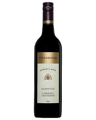 Pirramimma Stock's Hill Cabernet Sauvignon case of 6 Dry Red Wine 750mL