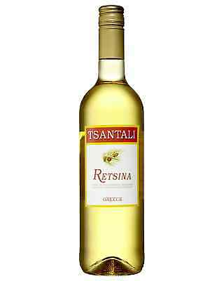 Tsantali Retsina case of 6 White Blend Dry White Wine 750mL