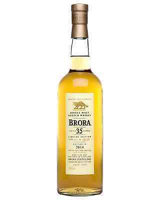 Brora 35 Year Old Scotch Whisky 700mL bottle Single Malt