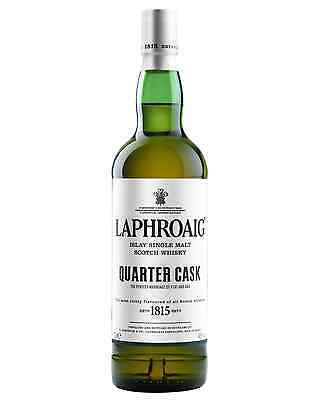 Laphroaig Quarter Cask Scotch Whisky 700mL case of 6 Single Malt Islay
