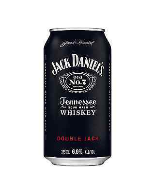 Jack Daniel's Double Jack & Cola Cans 375mL case of 24 American Whiskey