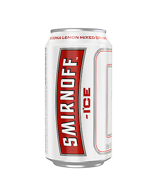 Smirnoff Ice Red Cans 375mL case of 24 Vodka