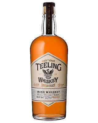 Teeling Single Grain Irish Whiskey 700mL case of 6 Single Malt