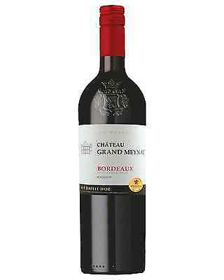 Château Grand Meynau Bordeaux case of 6 Red Blends Dry Red Wine 750mL