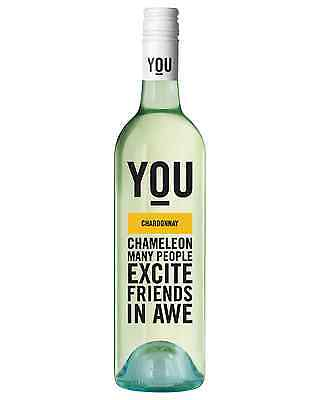 You Chardonnay case of 6 Dry White Wine 750mL