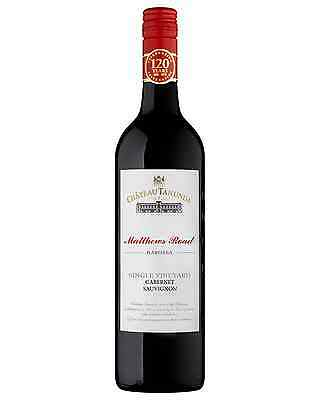 Château Tanunda Matthews Road Cabernet Sauvignon bottle Dry Red Wine 750mL