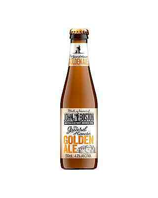 John Boston The Guardhouse Golden Ale 330mL case of 24 Craft Beer