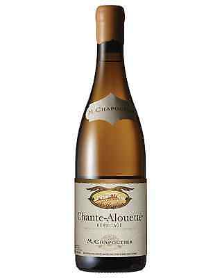M. Chapoutier Chante-Alouette Hermitage Marsanne case of 6 Dry White Wine 750mL