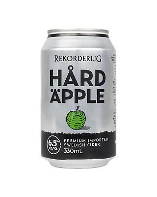 Rekorderlig Hard Apple Cider Cans 10 Pack 330mL case of 30