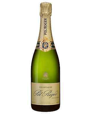 Pol Roger Blanc de Blanc case of 6 Chardonnay Sparkling White Wine 750mL