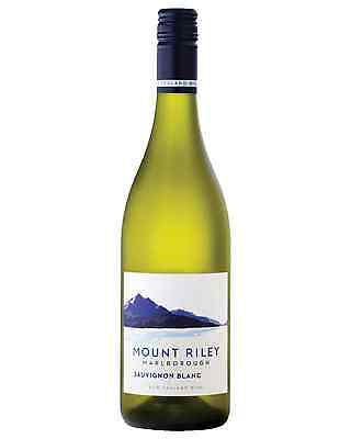 Mount Riley Sauvignon Blanc case of 12 Dry White Wine 750mL Marlborough