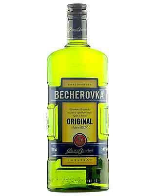Karlovarska Becherovka Original 700mL case of 6 Liqueur Herbal Liqueurs
