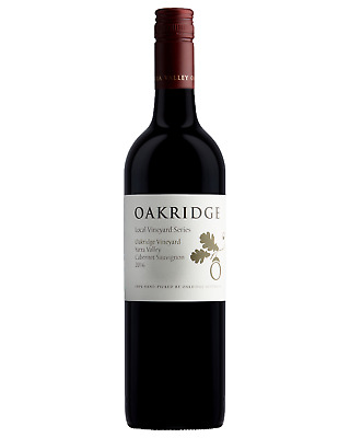 Oakridge Cabernet Sauvignon case of 6 Dry Red Wine 750mL Yarra Valley