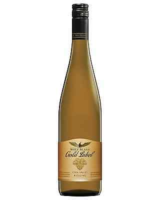 Wolf Blass Gold Label Riesling bottle Dry White Wine 750mL Eden Valley