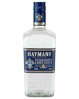 Hayman's London Dry Gin 700mL bottle
