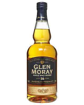 Glen Moray 16 Year Old Scotch Whisky 700mL case of 6 Single Malt Speyside