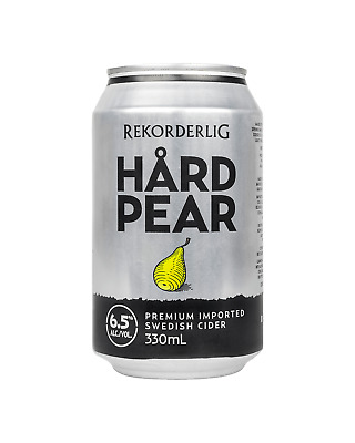Rekorderlig Hard Pear Cider Cans 10 Pack 330mL case of 30 Fruit Flavoured Cider