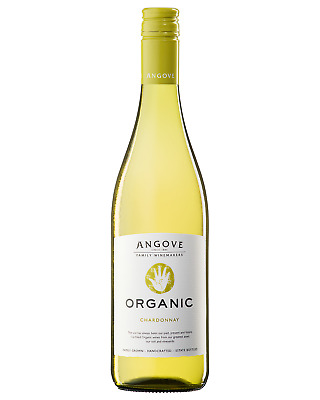 Angove Organic Chardonnay case of 6 Dry White Wine 750mL