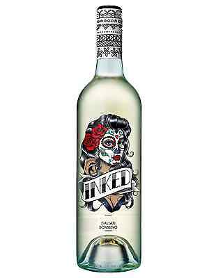 Inked Italian Bombino case of 6 Dry White Wine 750mL IGT Puglia